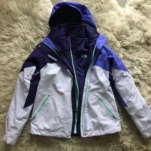 Woman's Northface winter jacket